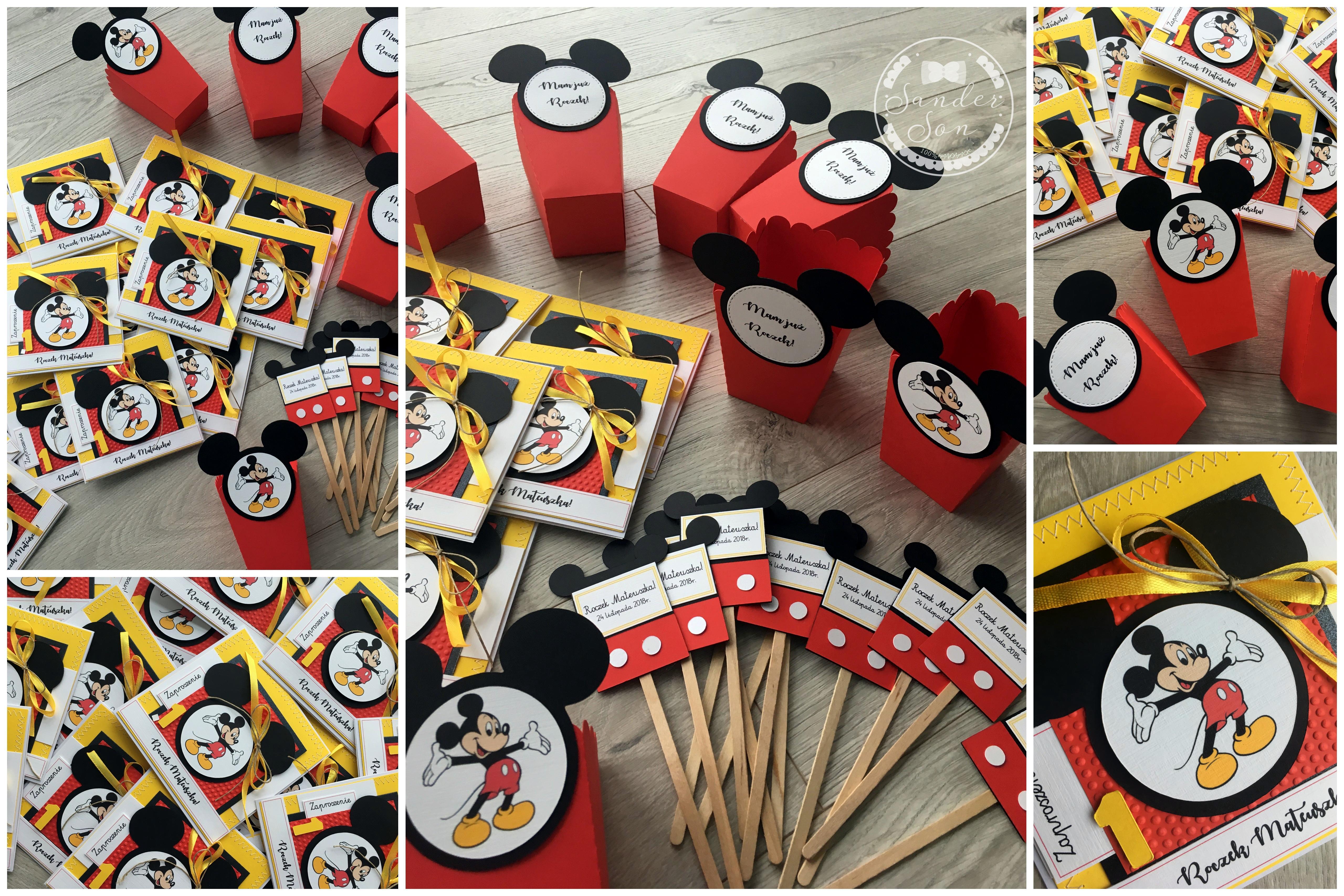 Pakiet Urodzinowy Myszka Mickey Sanderson
